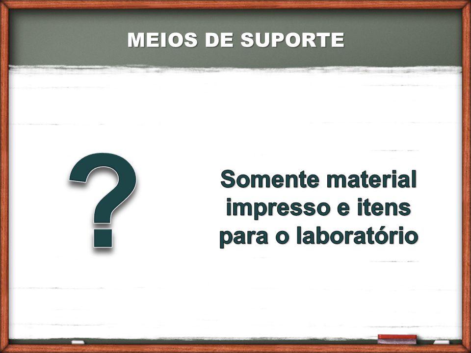 MEIOS DE SUPORTE