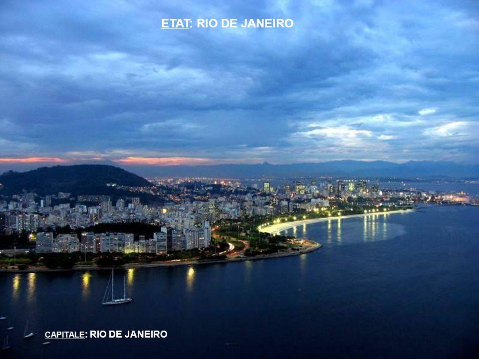 ETAT: RIO DE JANEIRO CAPITALE : RIO DE JANEIRO
