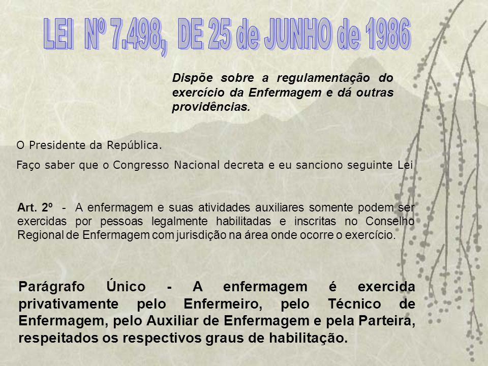 O Conselho Regional de Enfermagem do Ceará é uma Autarquia Federal criada pela Lei 5.905/73, Órgão responsável pelo Disciplinamento e Fiscalização do Exercício Profissional da Enfermagem.