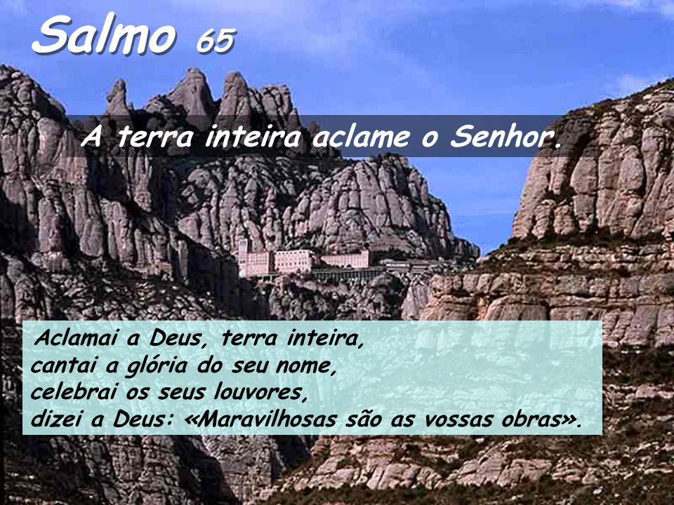 Actos 8, 5-8,14-17 Naqueles dias, Filipe desceu a uma cidade da Samaria e começou a pregar o Messias àquela gente. As multidões aderiam unanimemente à