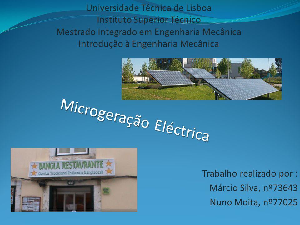 Universidade Técnica de Lisboa Instituto Superior Técnico Mestrado Integrado em Engenharia Mecânica Introdução à Engenharia Mecânica Trabalho realizad