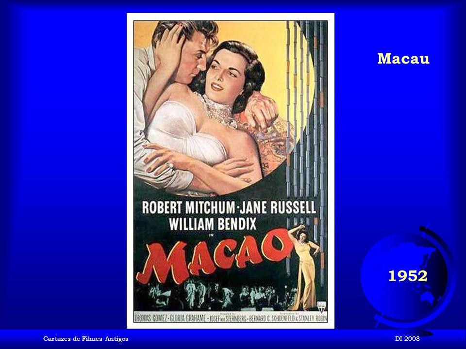 Cartazes de Filmes AntigosDI 2008 1952 Uma Viúva em Trinidad