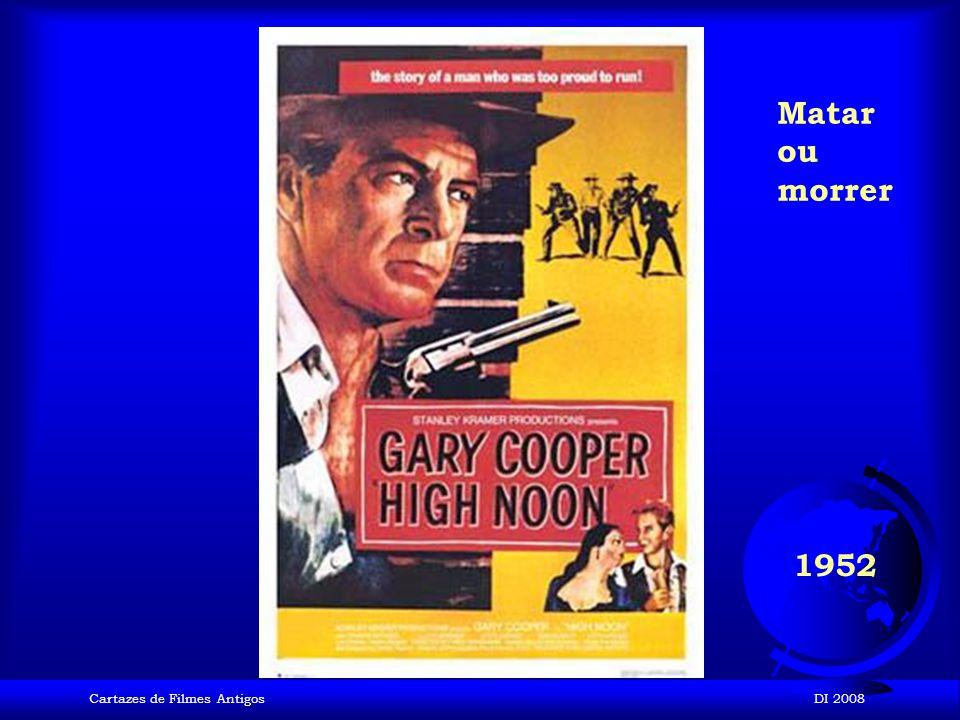 Cartazes de Filmes AntigosDI 2008 1952 Macau