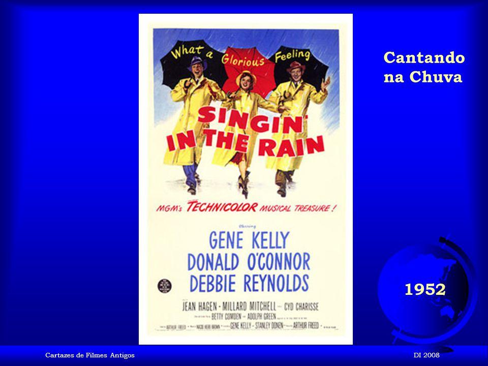 Cartazes de Filmes AntigosDI 2008 1952 Ivanhoé
