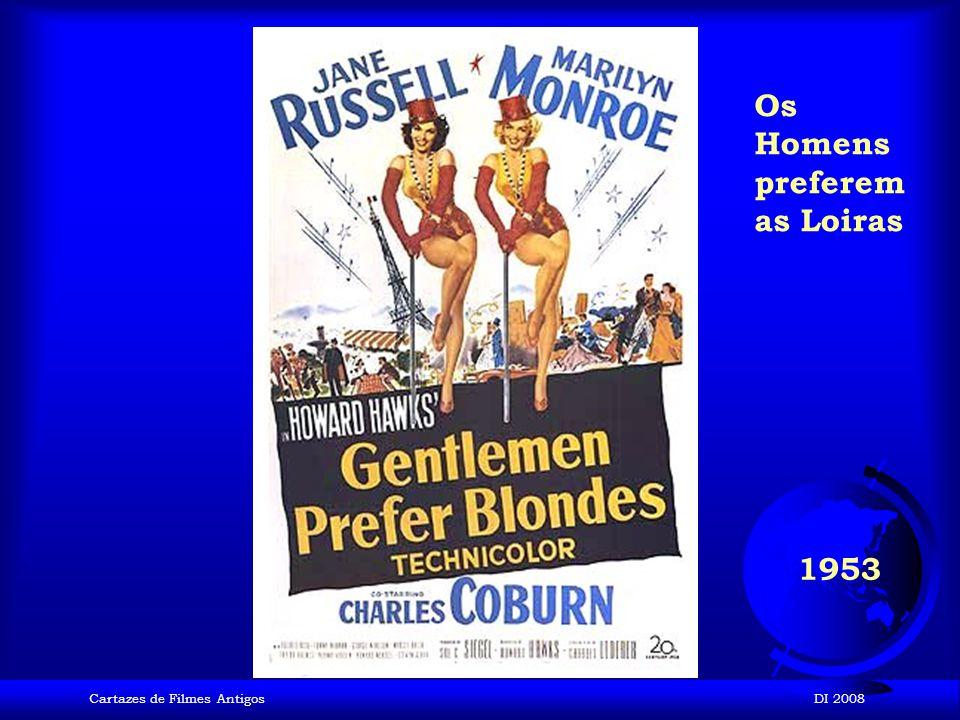 Cartazes de Filmes AntigosDI 2008 1952 Cantando na Chuva
