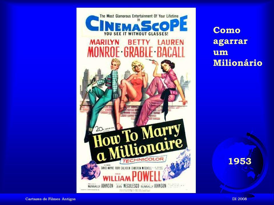 Cartazes de Filmes AntigosDI 2008 1953 Os Homens preferem as Loiras
