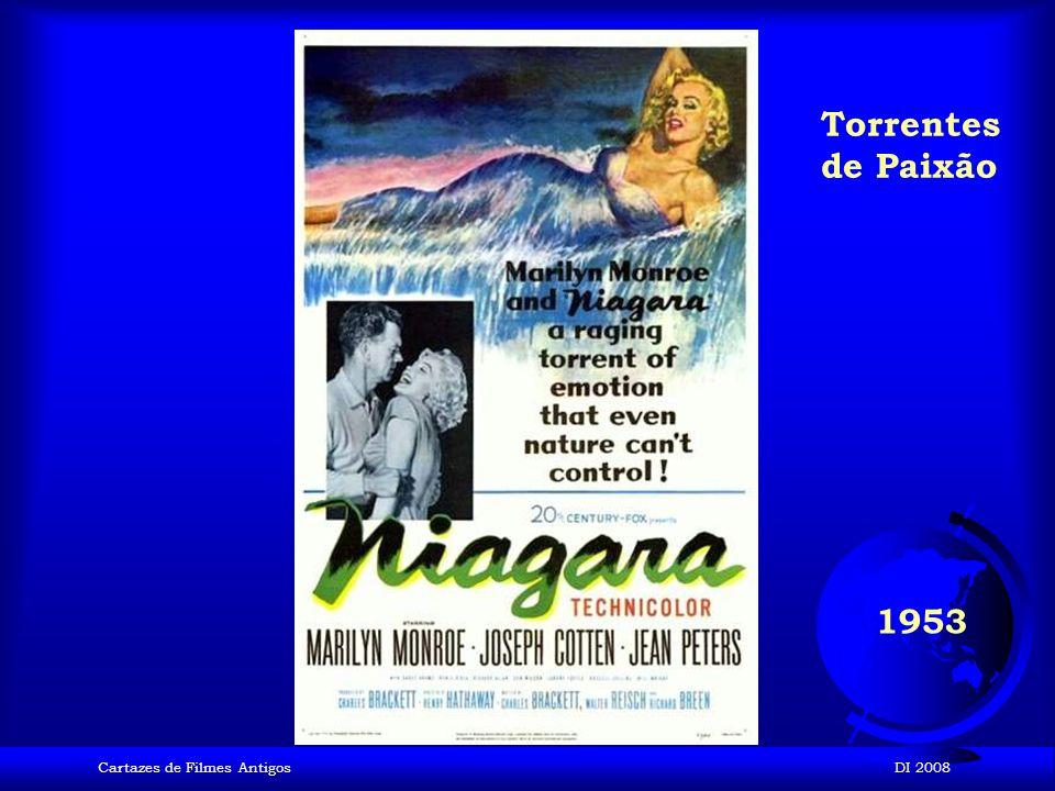 Cartazes de Filmes AntigosDI 2008 1953 A um Passo da Eternidade