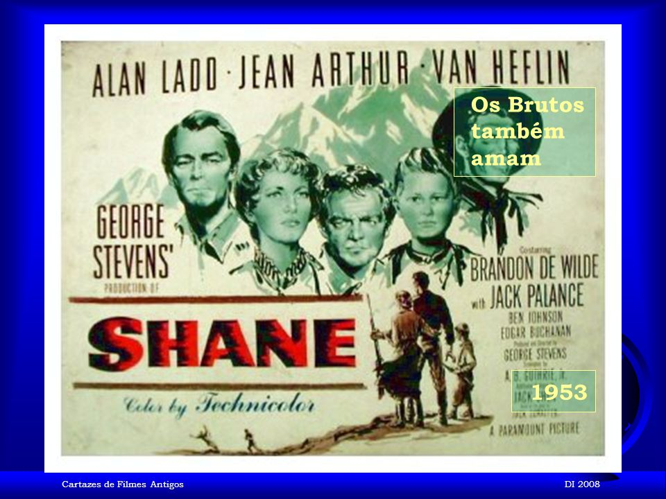 Cartazes de Filmes AntigosDI 2008 1953 Torrentes de Paixão