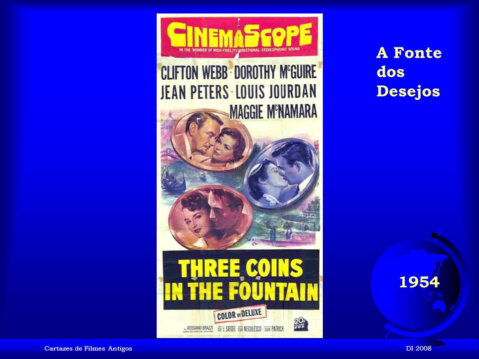 Cartazes de Filmes AntigosDI 2008 1954 A última Vez que vi Paris