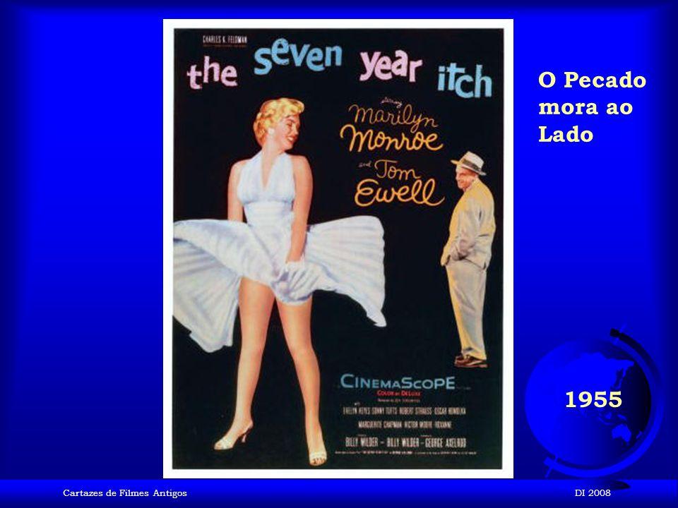 Cartazes de Filmes AntigosDI 2008 1955 Juventude transviada