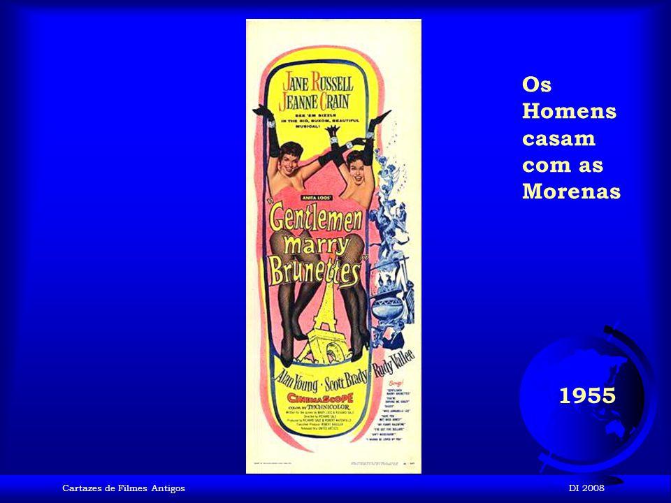 Cartazes de Filmes AntigosDI 2008 1955 O Pecado mora ao Lado