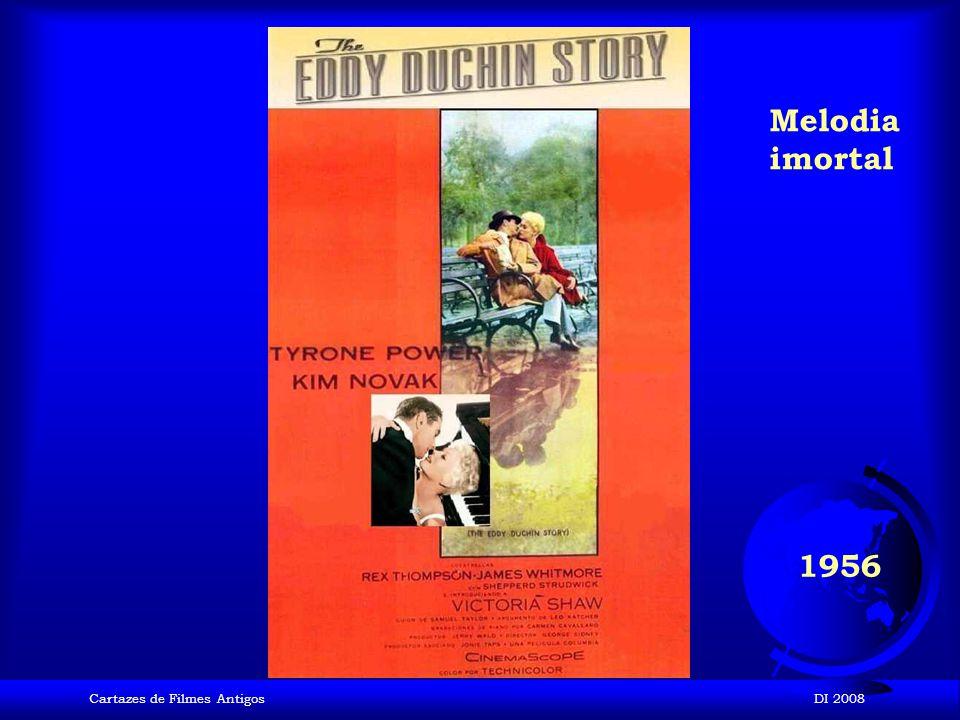 Cartazes de Filmes AntigosDI 2008 1956 O Homem que sabia demais