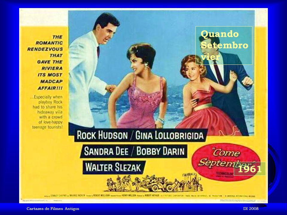 Cartazes de Filmes AntigosDI 2008 1961 Suave é a Noite