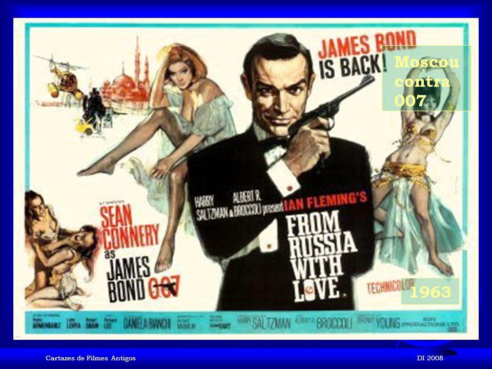 Cartazes de Filmes AntigosDI 2008 1962 007 contra o satânico Dr. No