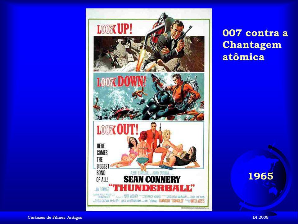 Cartazes de Filmes AntigosDI 2008 1964 007 contra Goldfinger