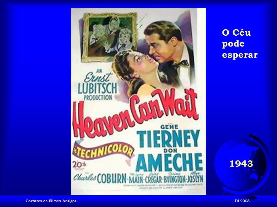 Cartazes de Filmes AntigosDI 2008 1942 Casablanca