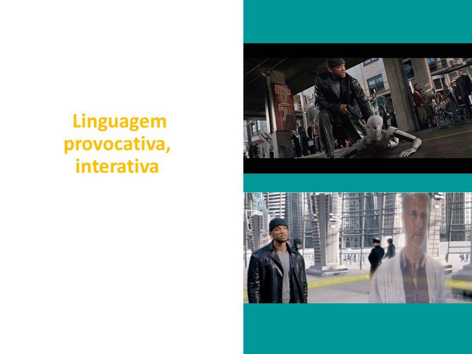 Linguagem provocativa, interativa