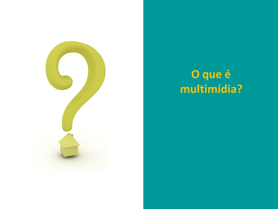 O que é multimídia?