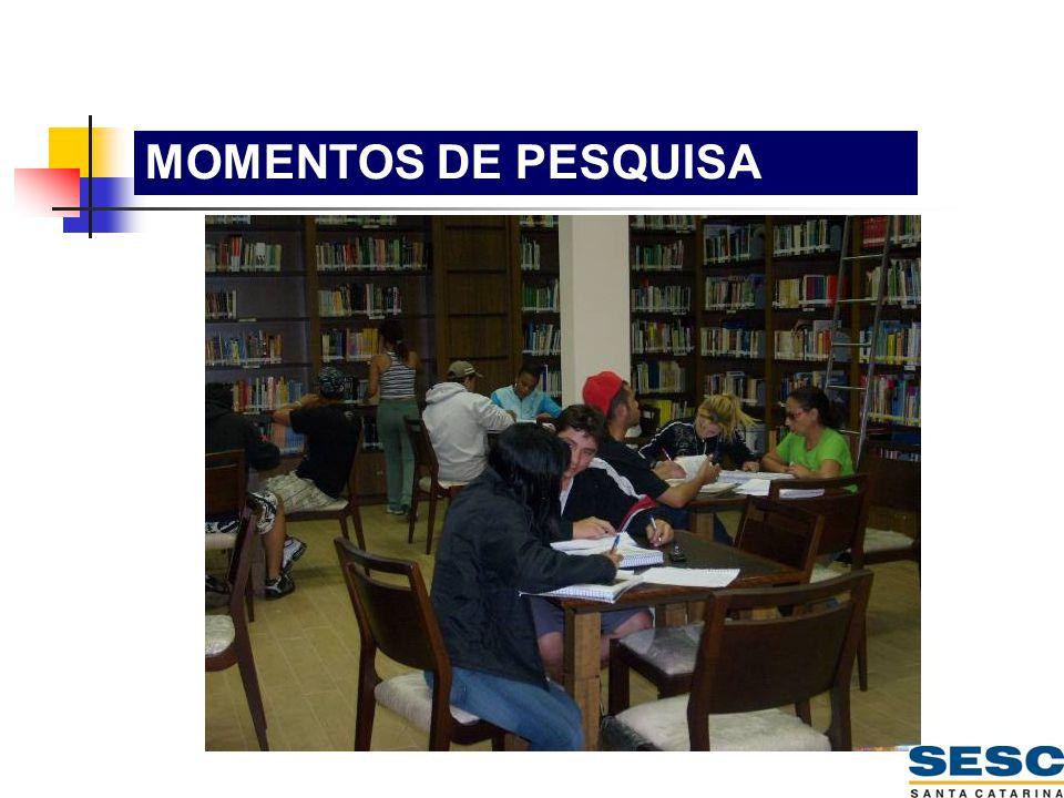 MOMENTOS DE PESQUISA