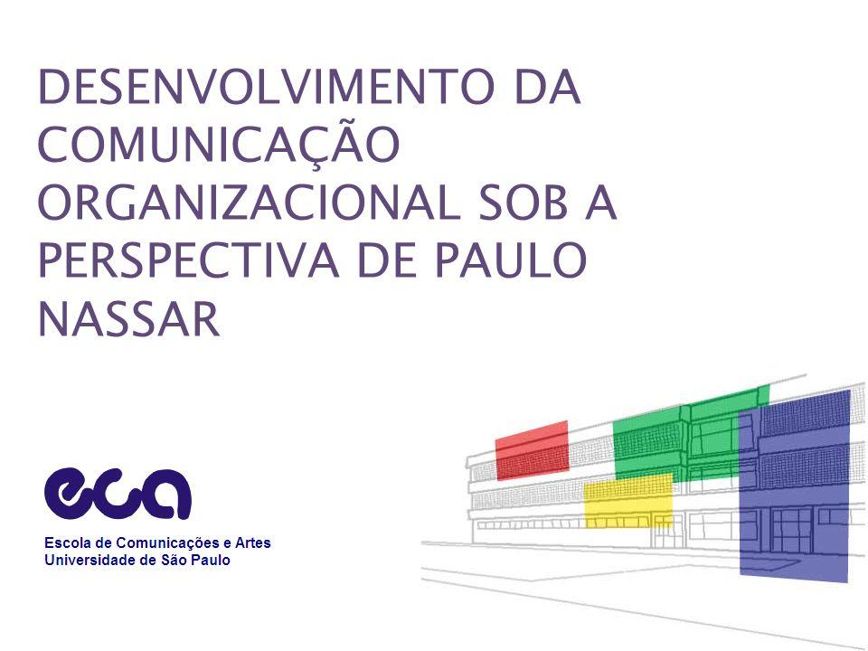 DESENVOLVIMENTO DA COMUNICAÇÃO ORGANIZACIONAL SOB A PERSPECTIVA DE PAULO NASSAR