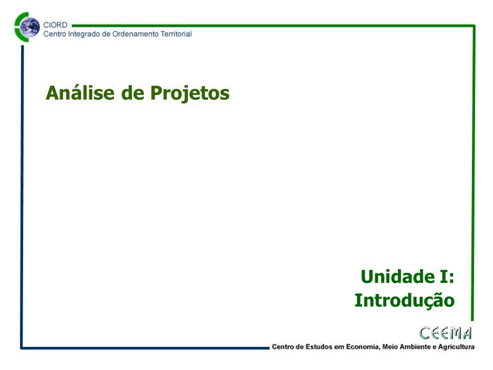 •Projeto é o conjunto de antecedentes que permite estimar as vantagens e as desvantagens econômicas que derivam da alocação de certos fatores de produção de um país para a produção de determinado bem ou serviço.