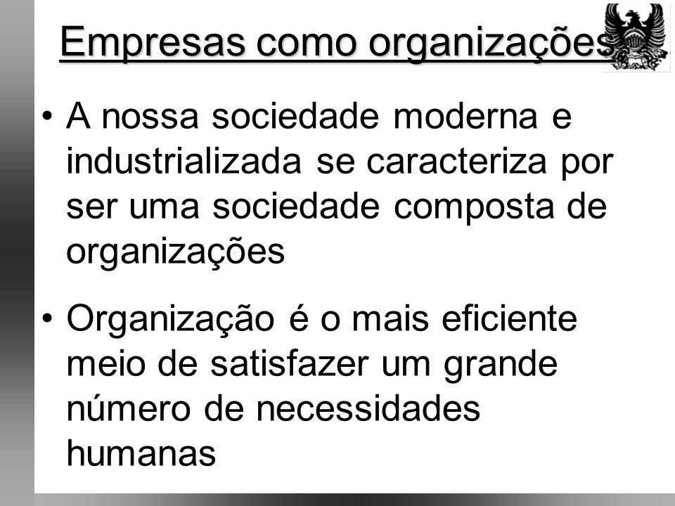 •Missão não é definitiva e nem estática •Sofre mudança ao longo da existência da organização •Envolve os objetivos essenciais do negócio •Cada organização tem sua missão específica e da qual decorrem os seus objetivos organizacionais principais Missão Organização