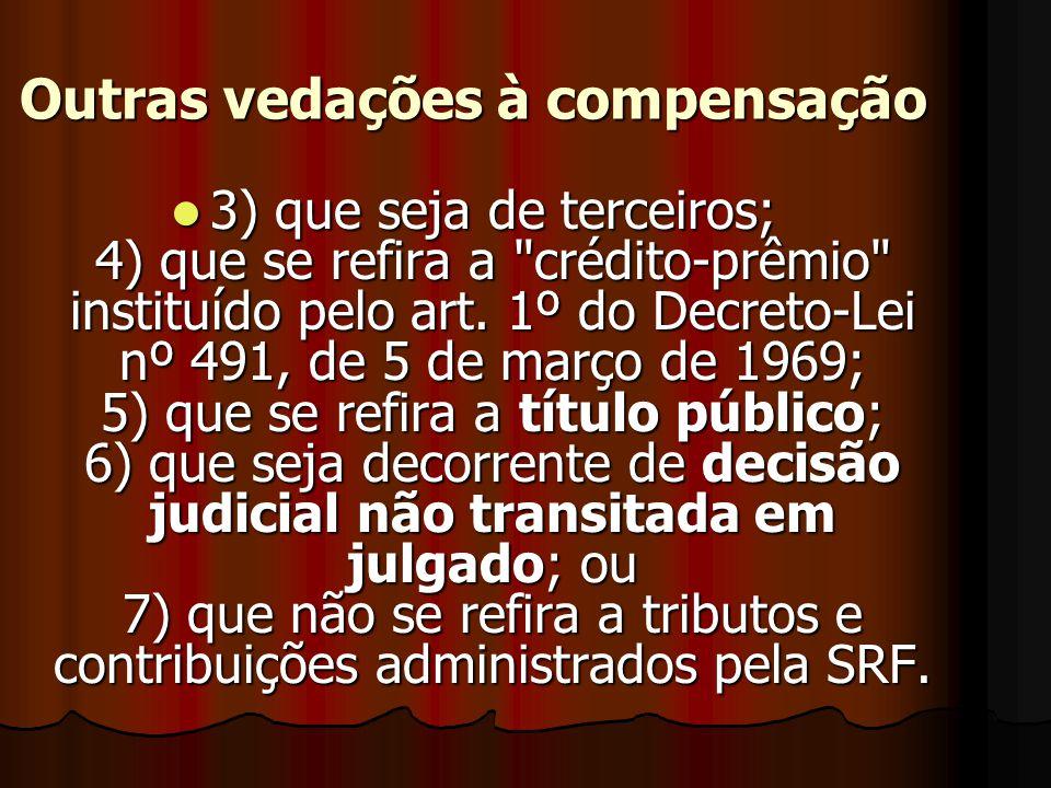 O crédito 1111) relativo ao saldo a restituir apurado na Declaração de Ajuste Anual do Imposto de Renda da Pessoa Física (DIRPF); 2) correspondent
