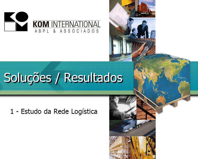 Soluções / Resultados 1 - Estudo da Rede Logística