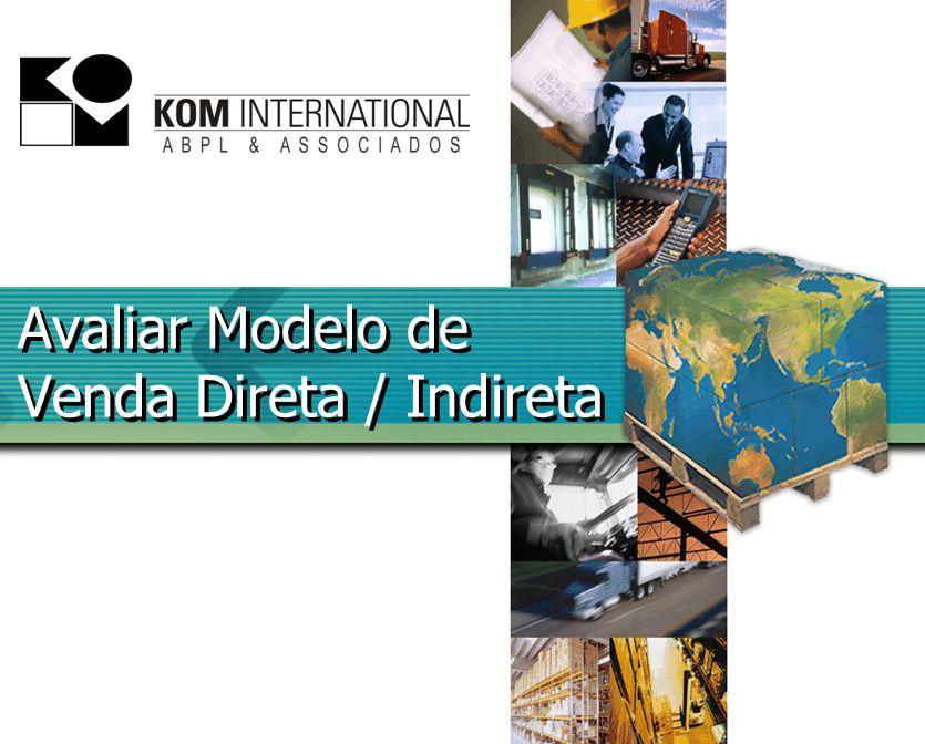 Avaliar Modelo de Venda Direta / Indireta