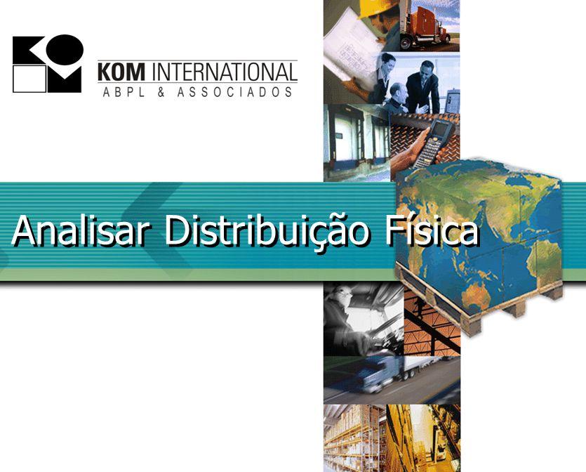 Analisar Distribuição Física