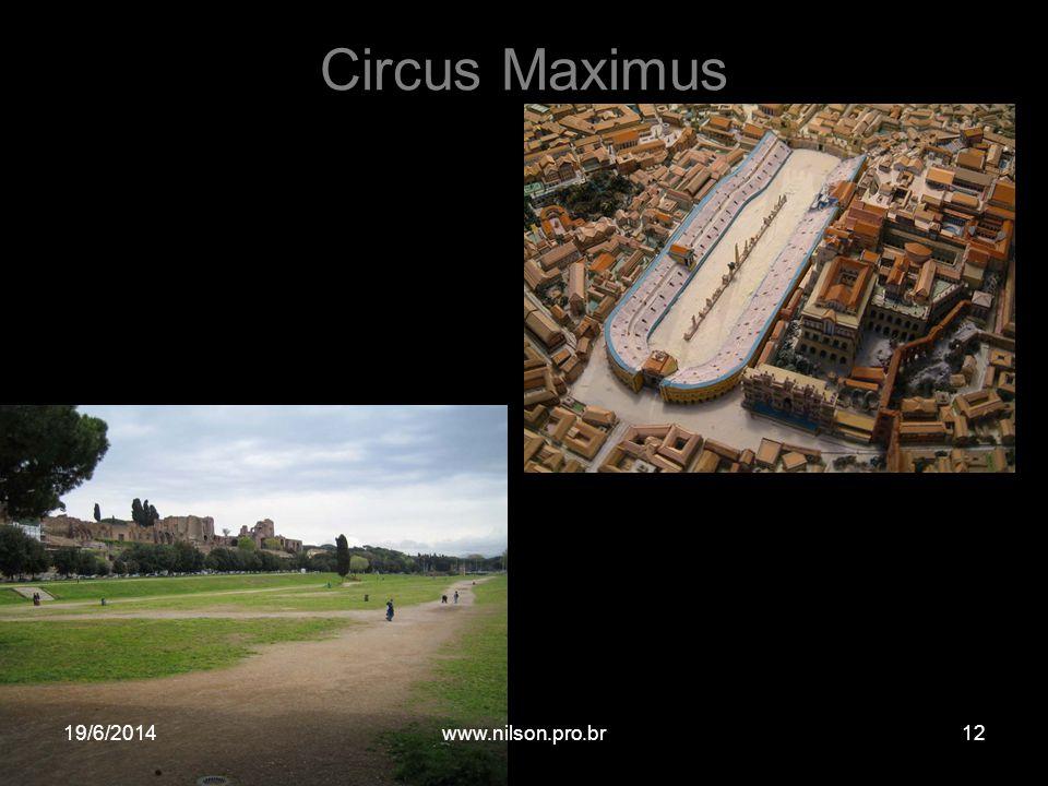 Circus Maximus 19/6/201412www.nilson.pro.br