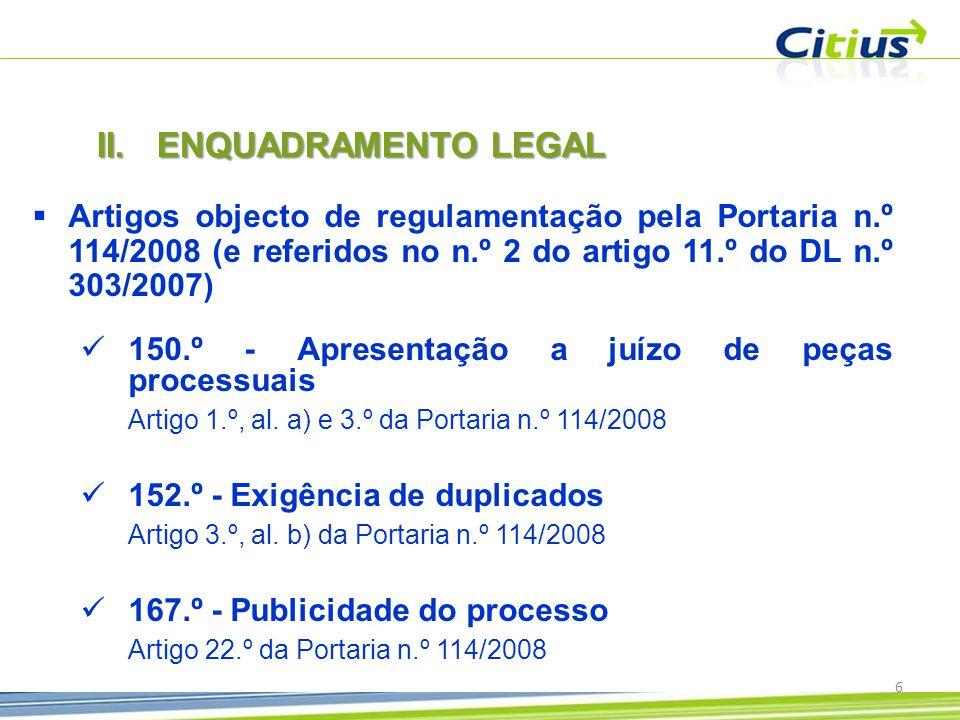 77 CITIUS – Magistrados Judiciais