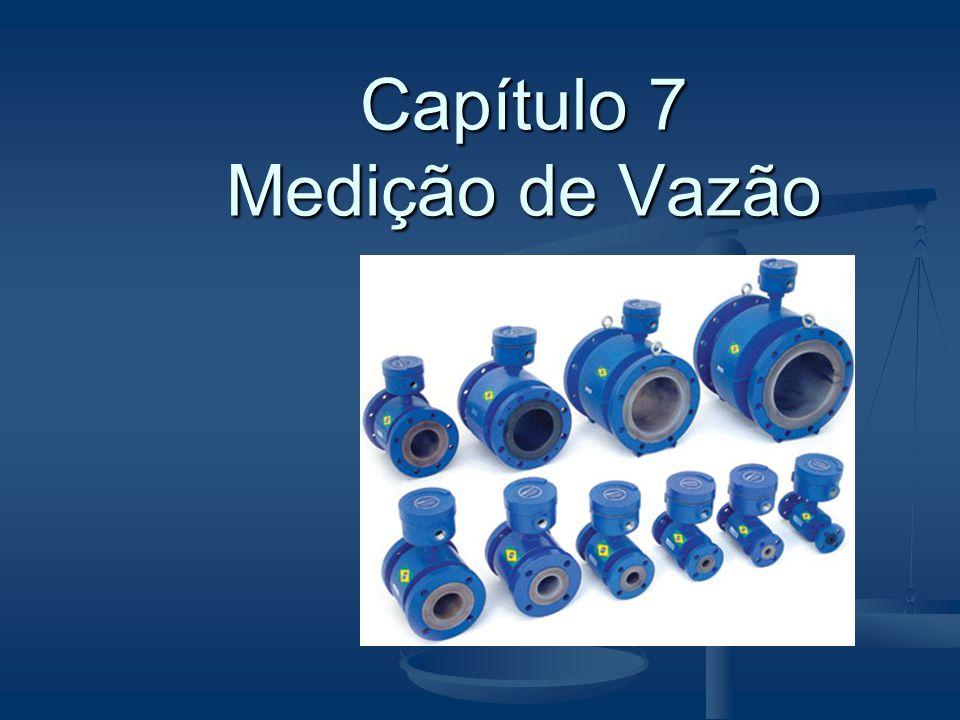 Tubo de Pitot  É um dispositivo para medição de vazão através da velocidade detectada em um ponto de tubulação.