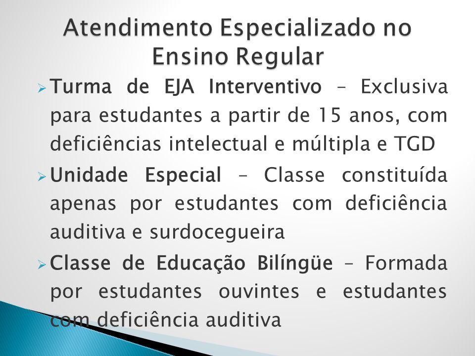 Condicionado à existência de vaga no ano/série e serviço especializado na Instituição pretendida  Preenchimento de ficha específica, no mês de outubro