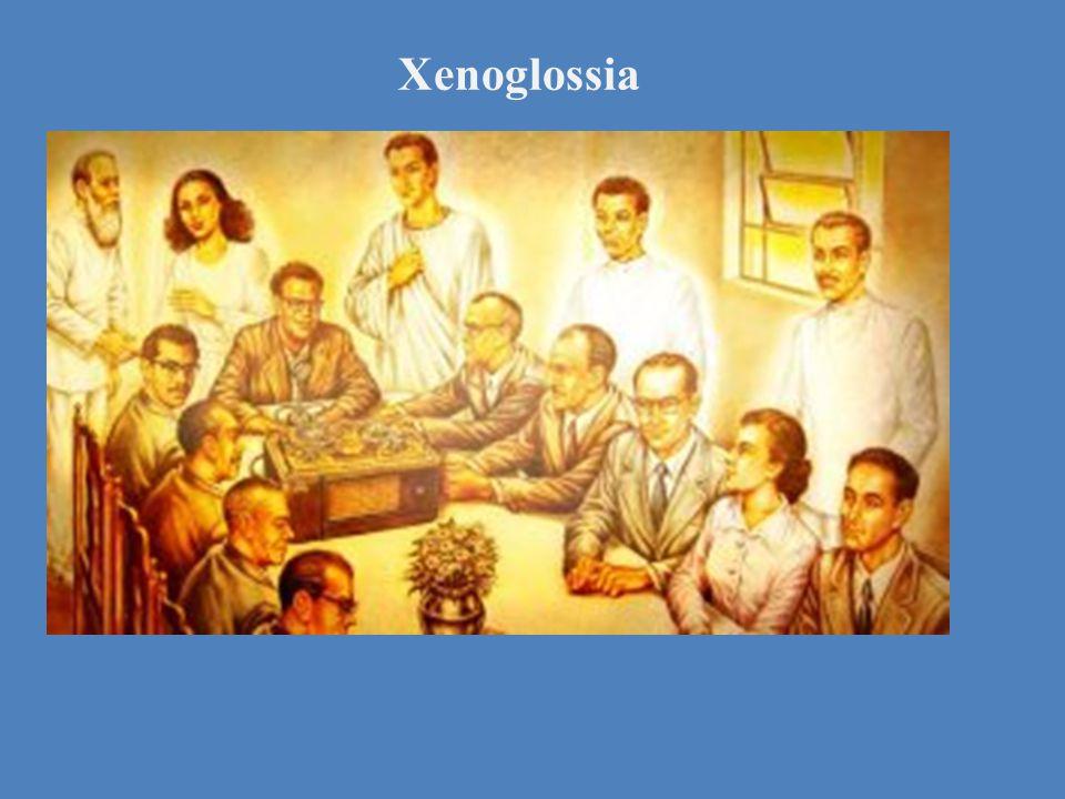 Xenoglossia