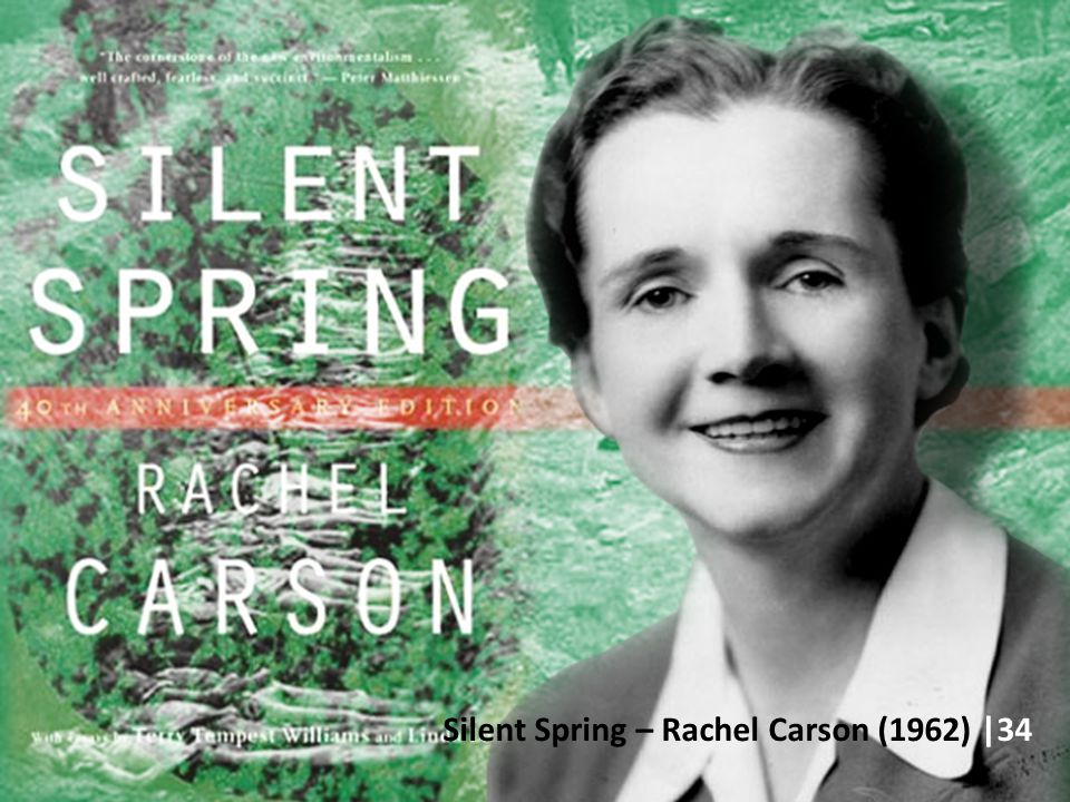 Silent Spring – Rachel Carson (1962) |34