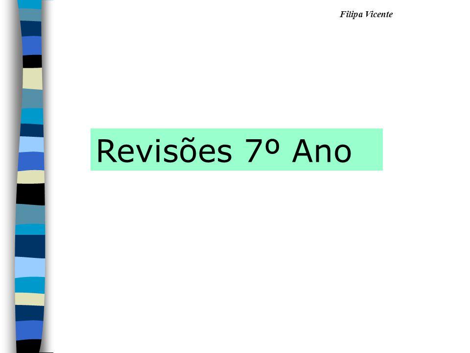 Filipa Vicente Revisões 7º Ano