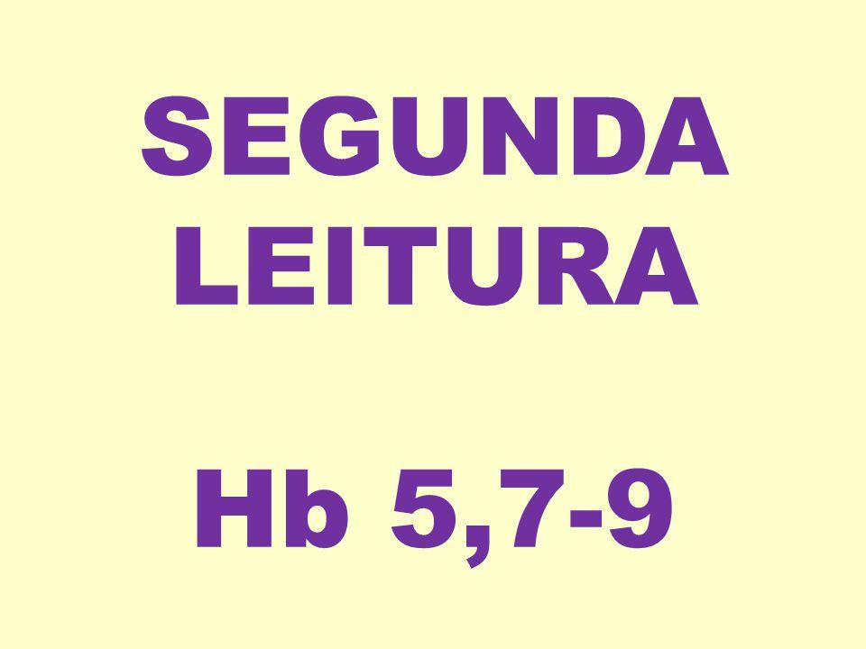 SEGUNDA LEITURA Hb 5,7-9