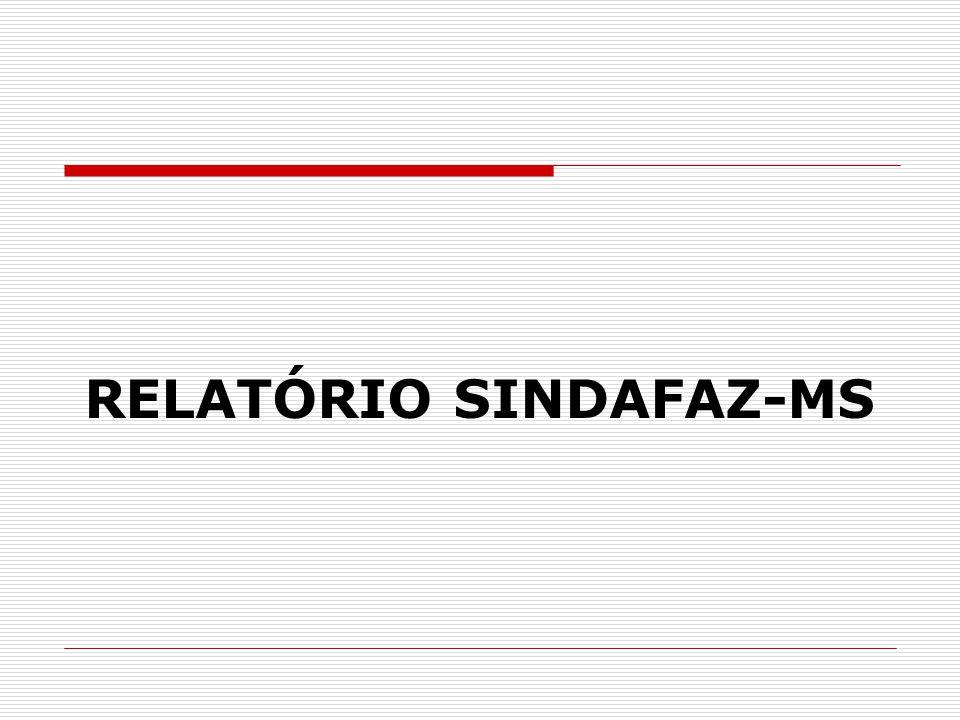 RELATÓRIO SINDAFAZ-MS