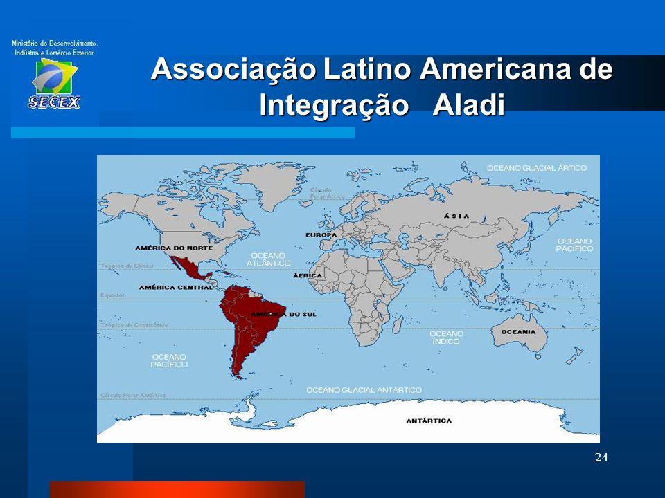 24 Associação Latino Americana de Integração Aladi