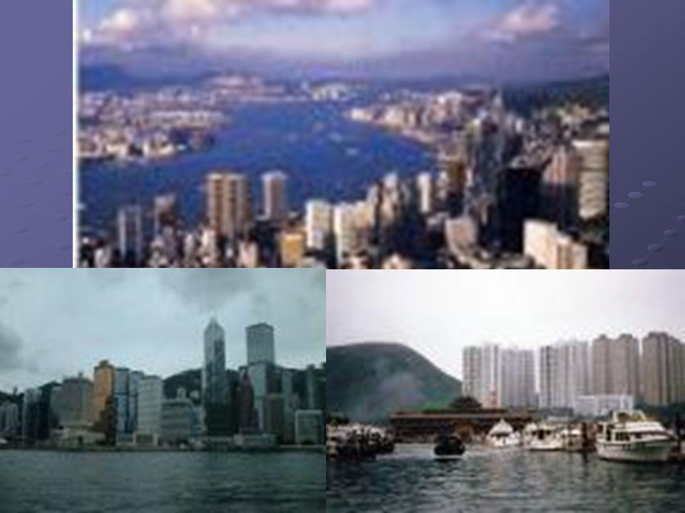HONG KONG COLÔNIA INGLESA DURANTE 150 ANOS, VOLTOU PARA A ADMINISTRAÇÃO CHINESA EM 1997. IMPORTANTE CENTRO FINANCEIRO MUNDIAL E 3º MAIOR PORTO EM MOVI