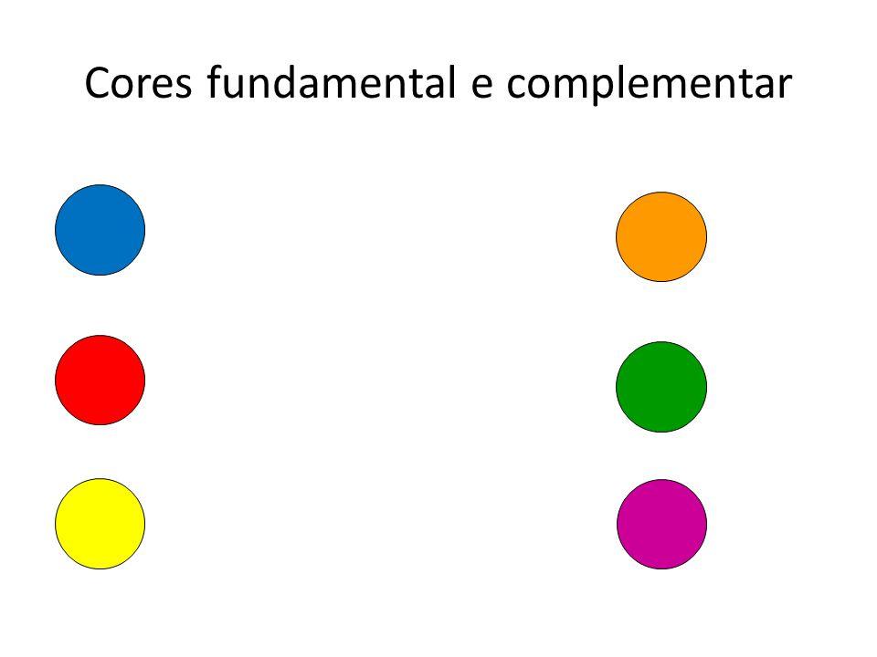 Cores fundamental e complementar