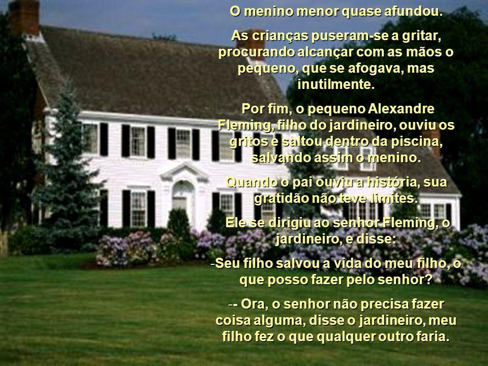 História que a vida escreveu Um famoso escritor conta a história de uma família rica, que foi convidada a passar um fim de semana na bela propriedade