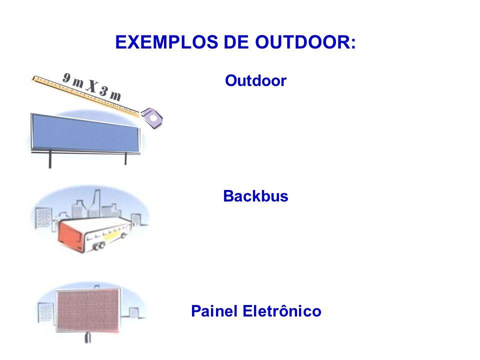 Outdoor Backbus Painel Eletrônico EXEMPLOS DE OUTDOOR: