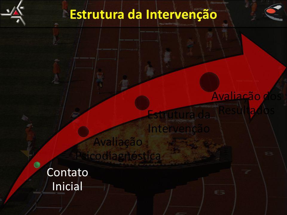 Estrutura da Intervenção Contato Inicial Avaliação Psicodiagnóstica Estrutura da Intervenção Avaliação dos Resultados