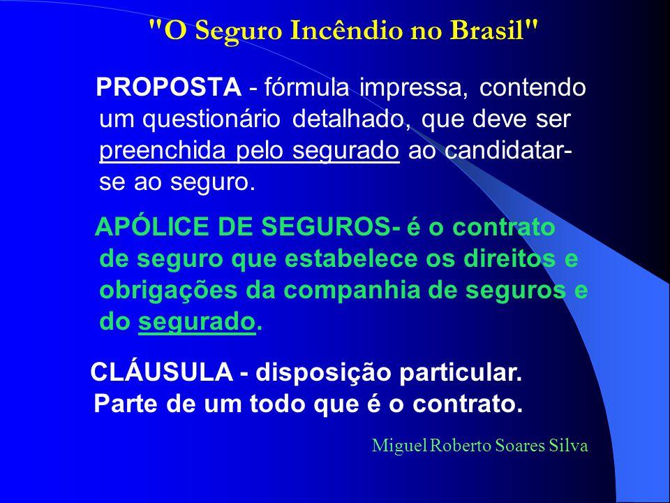 Miguel Roberto Soares Silva FRANQUIA - termo utilizado pelo segurador para definir valor calculado matematicamente e estabelecido no contrato de seguro, até o qual ele não se responsabiliza a indenizar o segurado em caso de sinistro.