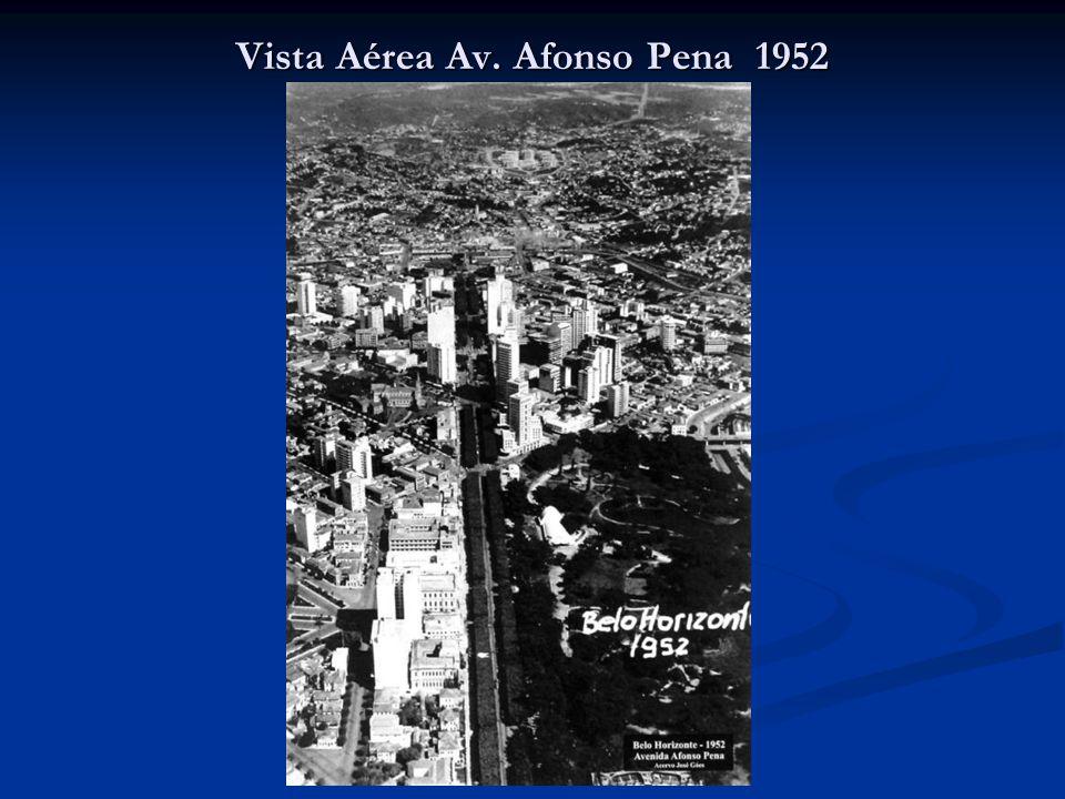 Vista Aérea Av. Afonso Pena 1952