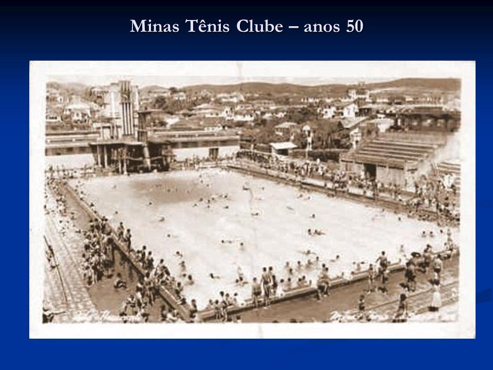 Minas Tênis Clube – anos 50
