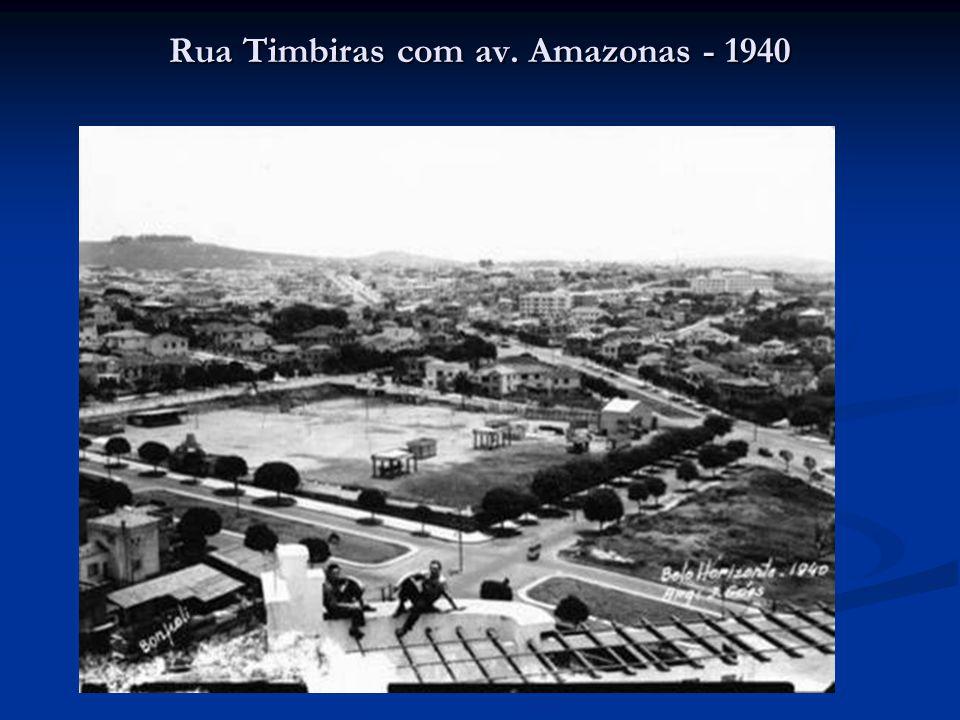 Rua Timbiras com av. Amazonas - 1940