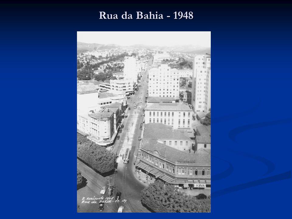 Rua da Bahia - 1948